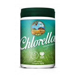 CHLORELLA 100% ORGANIC - 410tabl [This is BIO®]